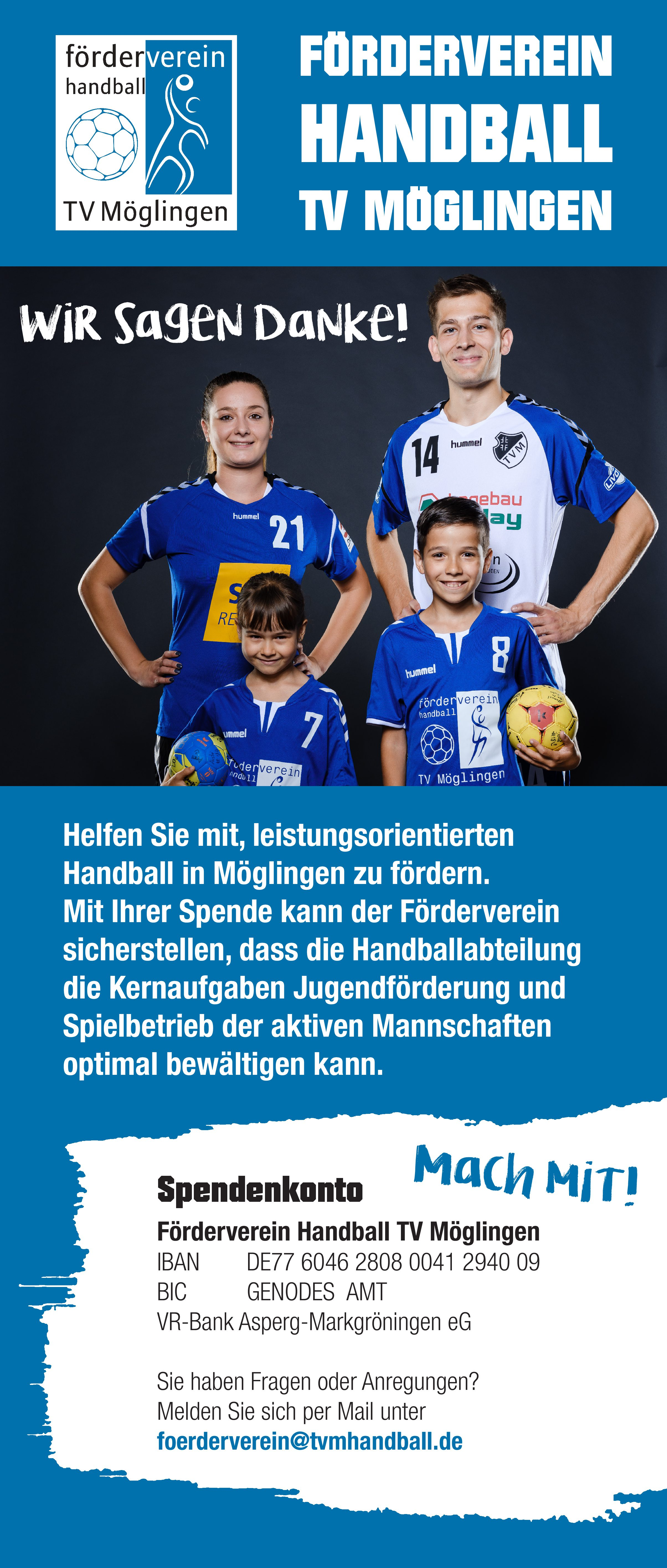 Forderverein Roll Up Cover